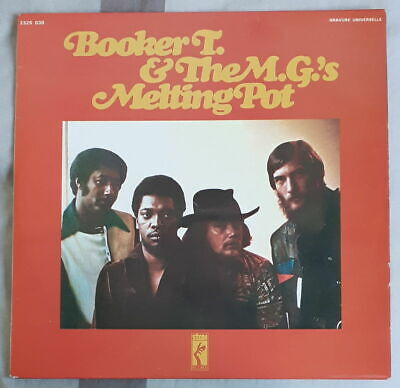 Booker T. & The M.g.'s  Melting Pot  French Lp Stax Records 1971 • 12.84£