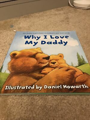 Why I Love My Daddy Kids Book • 6£
