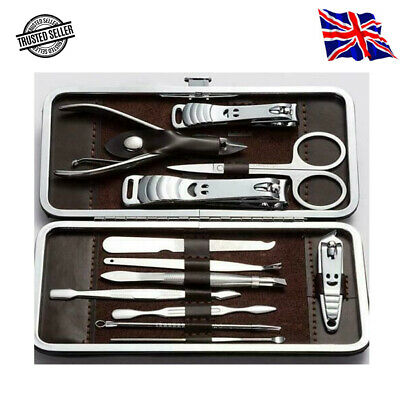 £4.47 • Buy 12pcs Nail Care Kit Cutter Set Clippers Manicure Pedicure Cuticle Tool Gift Set