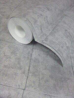 £11.99 • Buy Tile On A Roll Wallpaper - Slate Grey Washable Vinyl - 51161819 - Paste The Wall