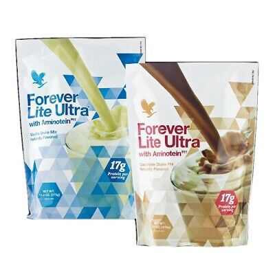 Forever Living Lite Ultra Shake Vanilla / Chocolate Flavour With Aminotein 375g  • 14.10£