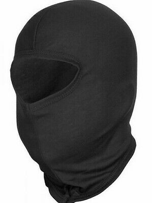 Thermal Cotton Balaclava Motorbike Motorcycle Helmet Soft Face Mask Cover Black • 3.14£