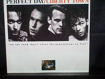 AU12.50 • Buy Perfect Day Liberty Town - 7  45 Vinyl Record P/s