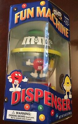$10.99 • Buy M & M's Toy Fun Candy Disp. Machine- Never Opened
