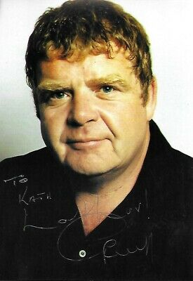 Geoffrey Hughes Hand Signed Geoff Photo Autograph Heartbeat Coronation St Used • 5£