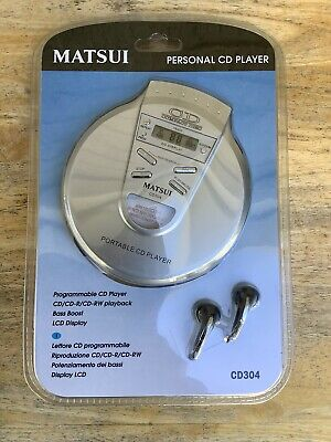 Matsui Personal Portable Cd Player Cd304 - New & Sealed • 19.99£