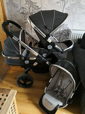 ICandy Peach Truffle2 Double Pushchair • 385£