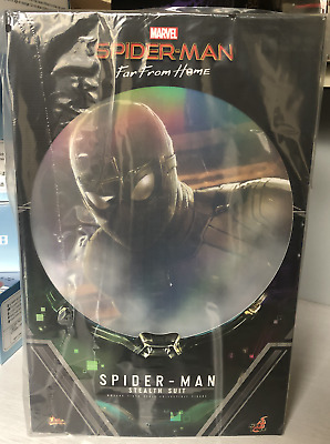 $ CDN266.01 • Buy HOT TOYS MMS540 Spider-Man Far From Home Stealth Suit Version 1/6 ACTION FIGURE