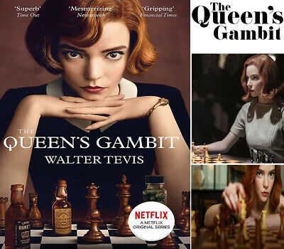 The Queen's Gambit: By Walter Tevis Now A Major Netflix Drama NEW Paperback Book • 5.45£