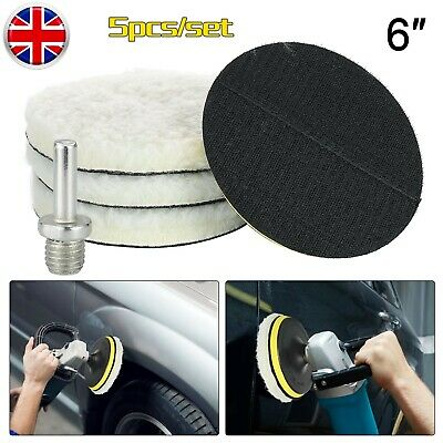 6inch Polishing Disc Polishing Buffer Pads Set Kit For Car Sanding, Polishing, • 8.99£