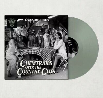 LANA DEL REY Chemtrails Over The Country Club LP GREEN VINYL RARE UO EXCLUSIVE • 38.99£