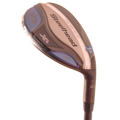 AU103.32 • Buy New Callaway Steelhead XR Hybrid #4 22* Ladies Flex Graphite RH +HC