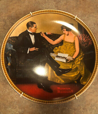 """$ CDN20.04 • Buy Norman Rockwell's """"Rediscovered Women"""" Collection Plate No. 5028C"""