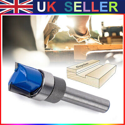 £6.04 • Buy 1/4  Shank Hinge Mortise Template Router Bit Woodworking Trim Milling Cutter New
