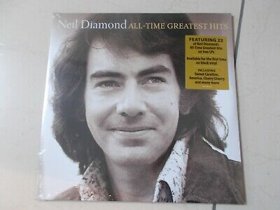 NEIL DIAMOND -  All-Time Greatest Hits 2 X LP VINYL - 23 Track • 22.99£