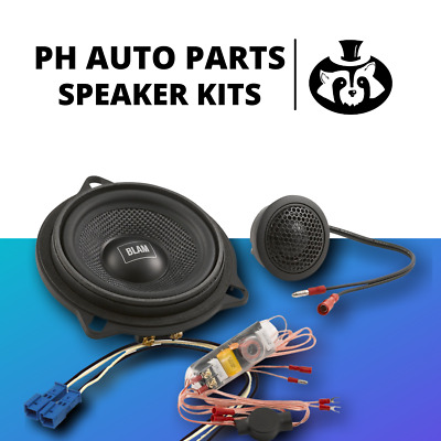 £209.97 • Buy BLAM 100MM Component Door Speaker Full Upgrade Kit For BMW 1-Series F20 And F21
