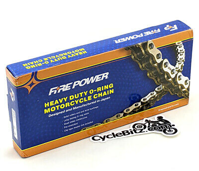 AU108.68 • Buy Fire Power FPO 530 X 114 O-ring Motorcycle Chain Made In Japan