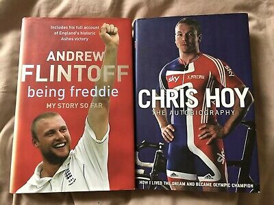 Autobiography By Chris Hoy & Being Freddie: My Story So Far By Andrew Flintoff • 1.50£