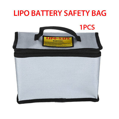 Fireproof  LiPo Battery Drone Explosion-Proof Safe Box Charging Bag Universal • 12.15£