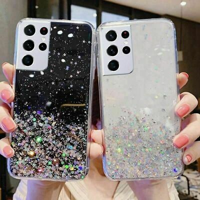 AU9.98 • Buy GLITTER Case For Samsung Galaxy S21 S20FE 5G S10 9 8 Shockproof Protective Cover