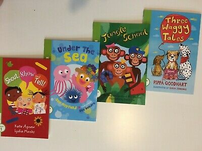 Reading Ladder, Set Of 4 Books, Book Band Green-Blue/ Level 4-5 • 9.99£