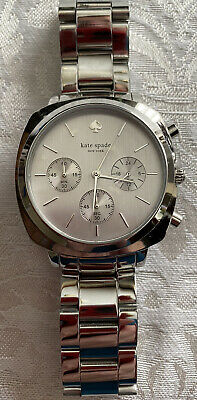 $ CDN65.17 • Buy Kate Spade New York Women's Silver Tone Multifunction Watch New In Box