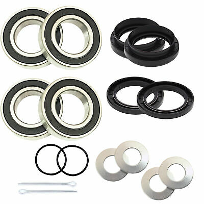 $28.99 • Buy Both Front Wheel Bearing Seal For Yamaha  YFM660 Grizzly IRS 2002