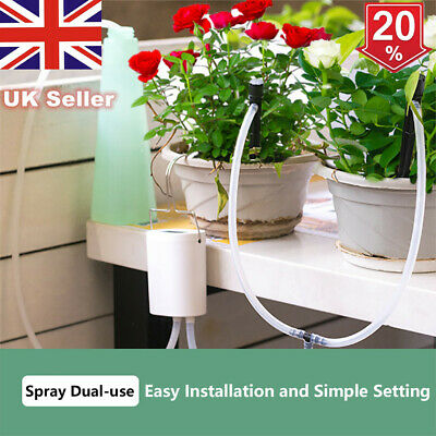 Automatic Drip Irrigation System Plant Controller Self Watering Kits For Garden❀ • 20.07£