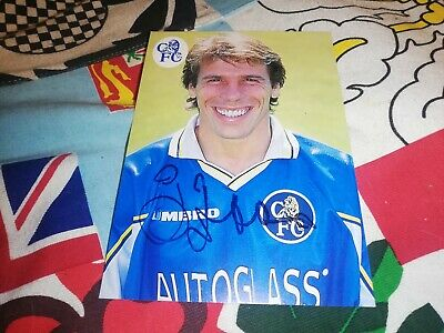 £31.94 • Buy Gianfranco Zola Hand Signed Chelsea Fc Autograph Card
