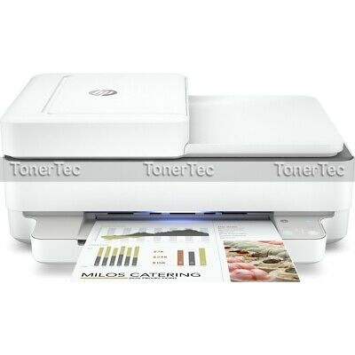 AU125.08 • Buy HP ENVY 6430 Multifunction Wireless Inkjet Printer+Duplex+ADF+FAX *Damaged Box*