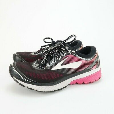 $ CDN18.84 • Buy Brooks Womens Ghost 10 1202461B067 Black Purple Running Shoes Lace Up Size 8 B