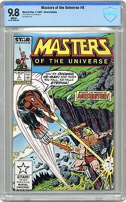 $345 • Buy Masters Of The Universe #8 CBCS 9.8 1987