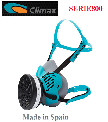 Climax - Reusable Half Face Mask With P3 Filter, Gases/vapours, Made In Spain • 19.95£