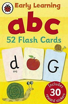 Early Learning ABC Flash Cards By Ladybird, NEW Book, FREE & FAST Delivery, (Har • 6.27£