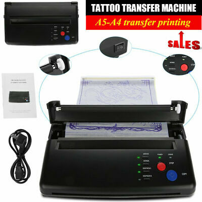 £4.63 • Buy Professional Tattoo Stencil Transfer Machine A5 A4 Copier Printer Thermal Maker