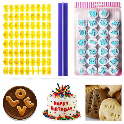 26 Alphabet Letter Number Fondant Cake Biscuit Baking Mould Cookie Cutters Stamp • 3.78£