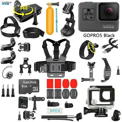 $ CDN289.57 • Buy GoPro HERO5 HERO 5 Black Edition With ALL Sports Accessories Bundle