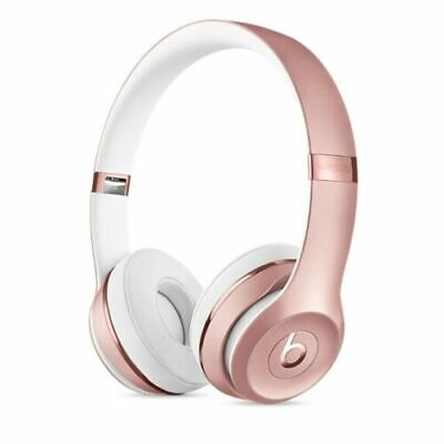 $ CDN176.06 • Buy Beats By Dr. Dre Solo3 Solo 3 Wireless Headphones-ROSE GOLD- Brand New-SEALED