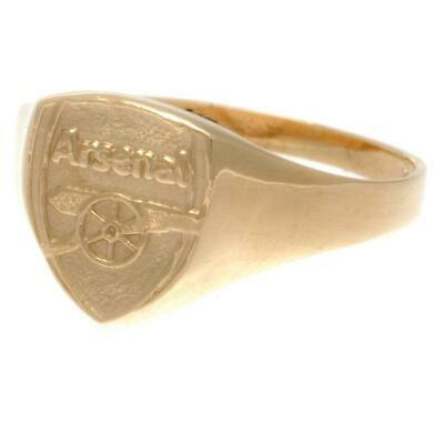 £259.95 • Buy Arsenal FC 9ct Gold Crest Ring Small