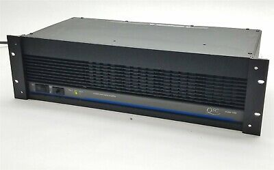 $ CDN126.86 • Buy QSC Model 1400 Professional 2-Channel Stereo Power Amplifier Amp 200WPC 8-Ohms