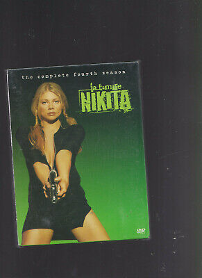 } La Femme Nikita The Complete Fourth Season DVD Boxed Set Region 1 • 33.27£