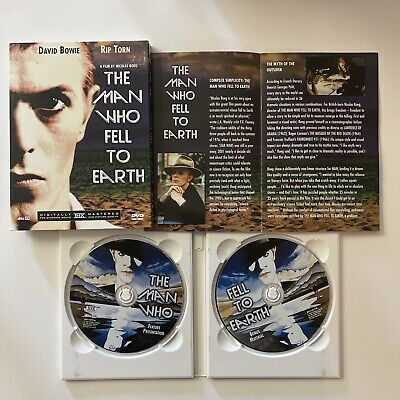The Man Who Fell To Earth (DVD, 2003, 2-Disc Set) Rip Weste David Bowie • 29.16£