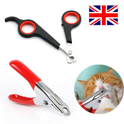 £2.72 • Buy Pet Dog Nail Clippers Cat Rabbit Bird Pig Puppy Kitten Claw Trimmers Scissors UK