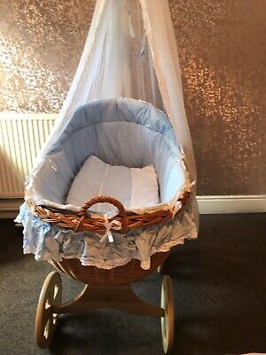 £50 • Buy Baby Crib Complete With Drapes And Mattress