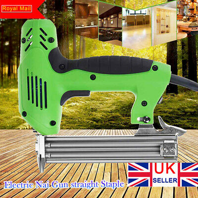 1800W Electric Straight Nail Gun 10-30mm Special Use 30/min Woodworking Tools UK • 48.99£