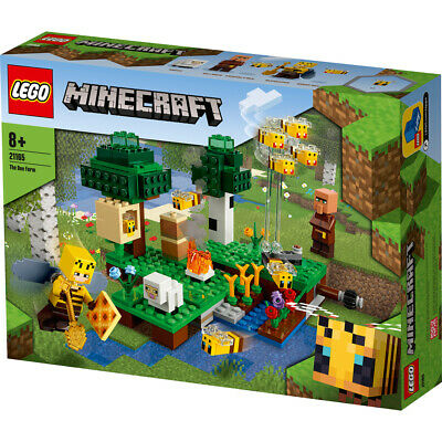 £21.99 • Buy Lego 21165 Minecraft The Bee Farm Building Set 238 Pieces With Beekeeper Ages 8+