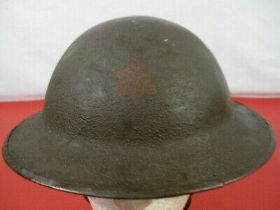 $325.99 • Buy WWI US Army AEF M1917 Helmet W/Liner Hand Painted 6th Infantry Division Emblem 2