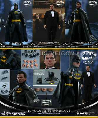 $ CDN1087.31 • Buy Hot Toys 1/6 Batman Returns Batman And Bruce Wayne MMS294 *New* From Japan