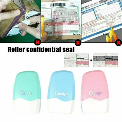 Theft Protection Guard Your Data Identity Privacy ID Security Stamp Roller • 4.99£