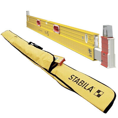 STABILA 35712-KIT 7'-12' Plate Level 2 - Type 106T With Case • 265.46£